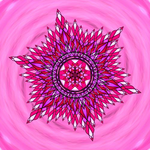 Mandala Vem své srdce s sebou