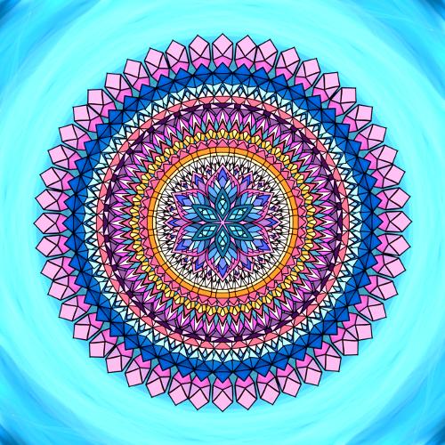 Mandala Obavy nic nevyřeší