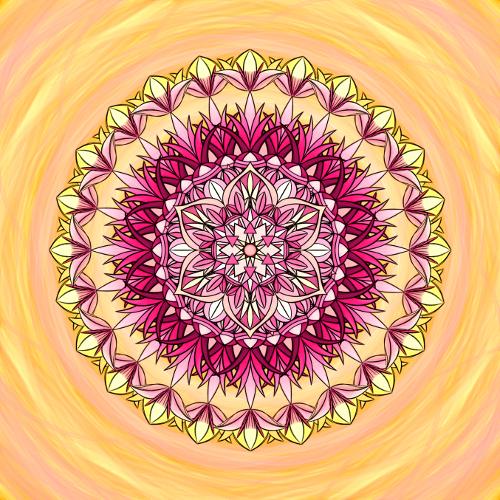Mandala Prožij každý den jako ten nejkrásnější
