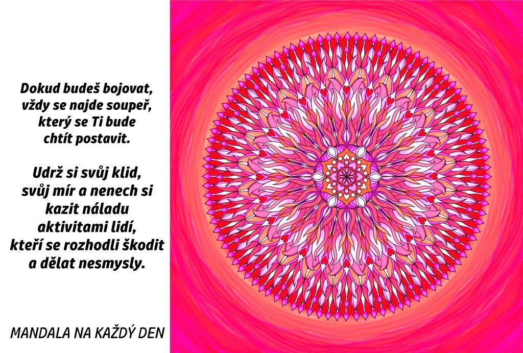 Mandala Udrž si svůj vnitřní mír