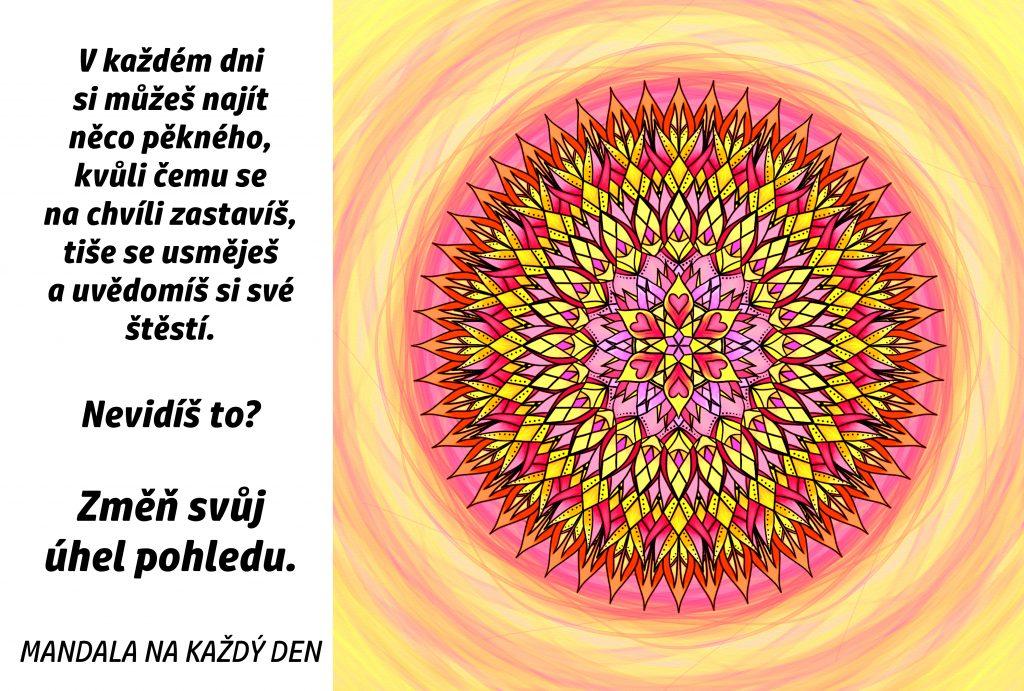 Mandala Změň svůj úhel pohledu