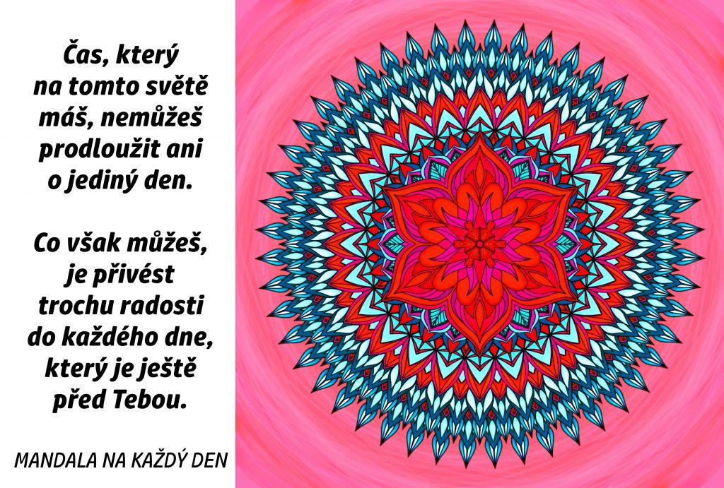 Mandala Přiveď radost do každého dne