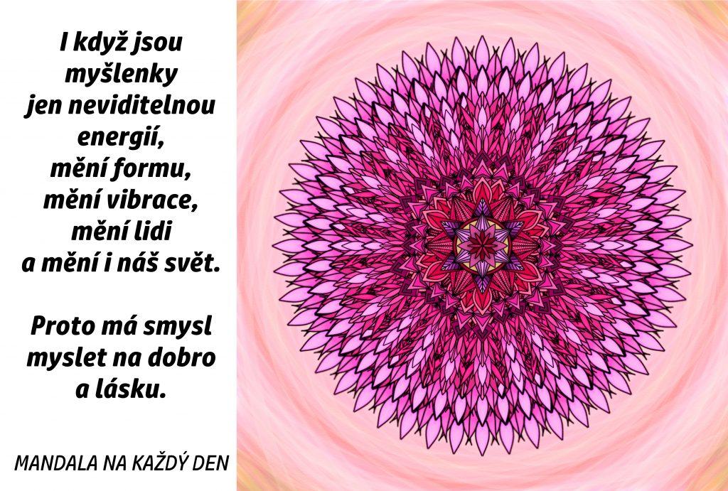 Mandala Energie dobra a lásky