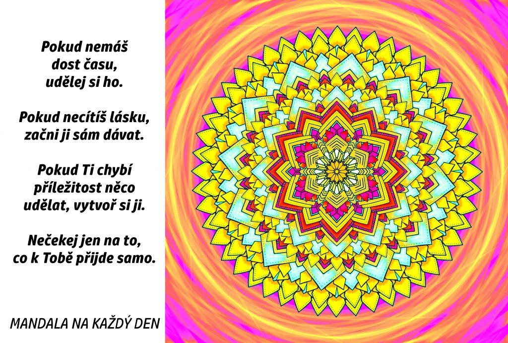 Mandala Buď aktivní