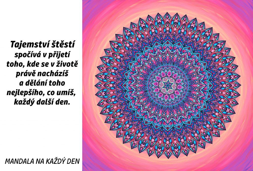 Mandala Malé tajemství štěstí