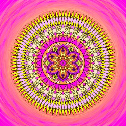 Mandala Stáváš se tím, v co věříš