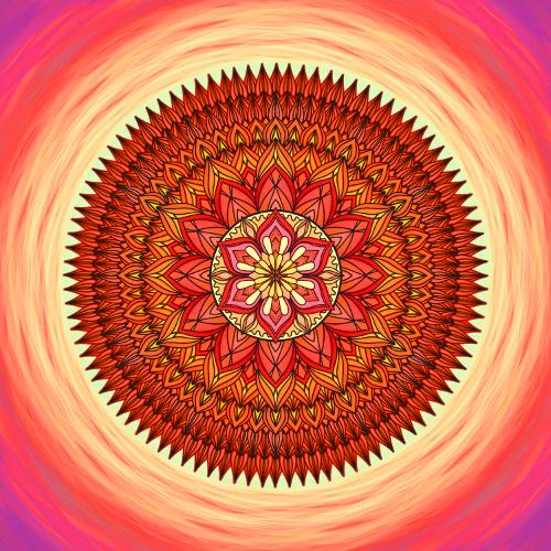 Mandala Dovol si vydechnout