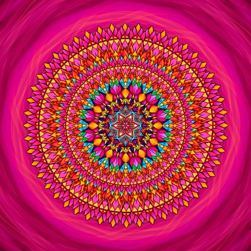 Mandala Najdi v sobě sílu
