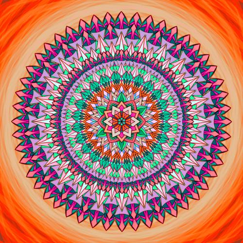 Mandala Štěstí nebrání nedostatek ani neznalost