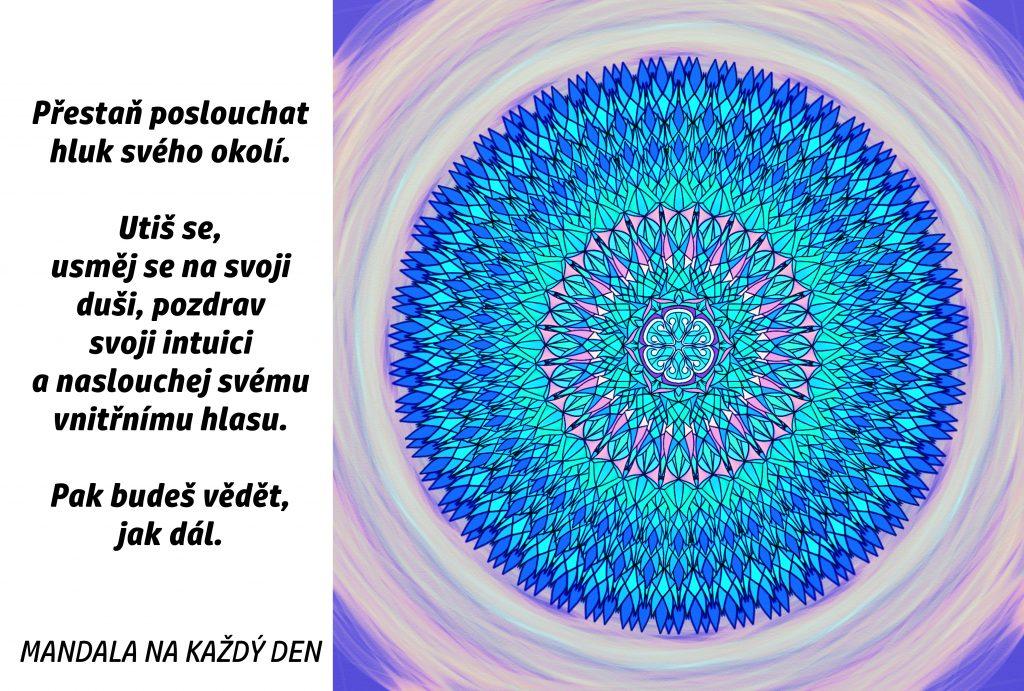 Mandala Utiš se a naslouchej