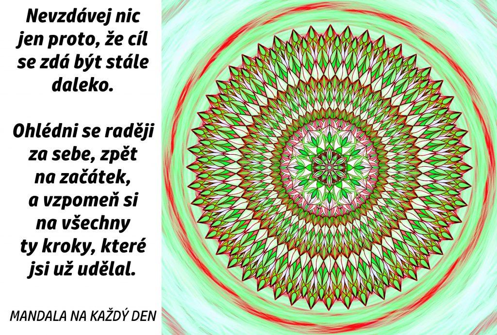 Mandala Nic nevzdávej