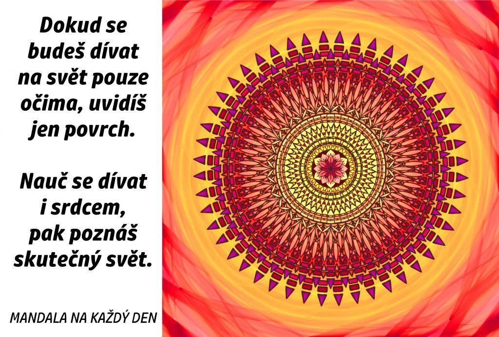 Mandala Dívej se i srdcem