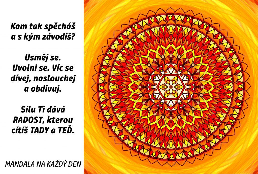 Mandala Sílu Ti dává radost