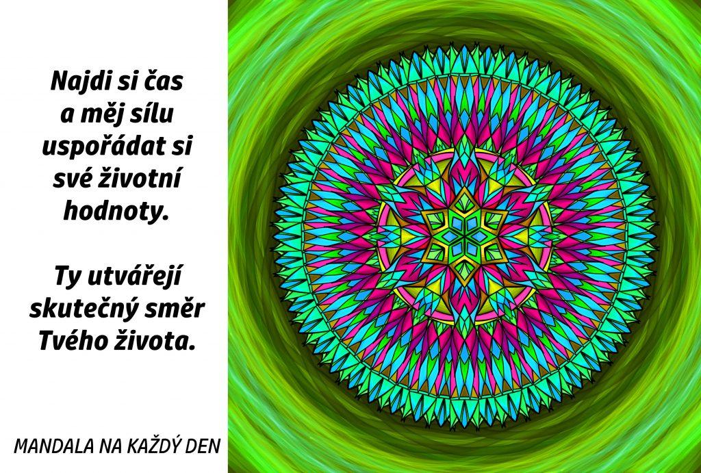 Mandala Dej směr svému životu