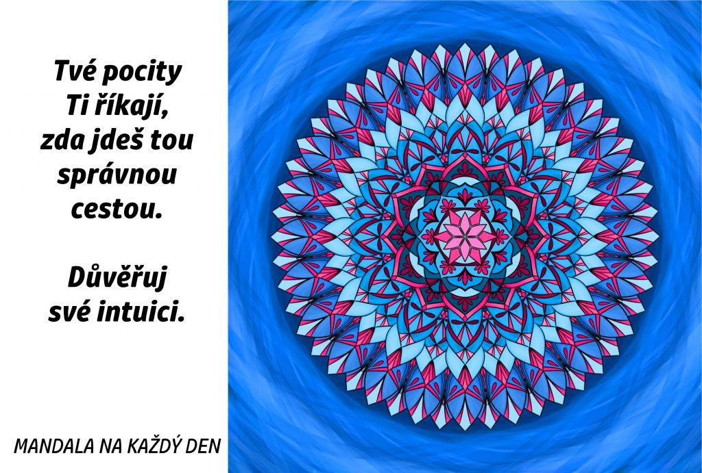 Mandala Důvěřuj pocitům a intuici