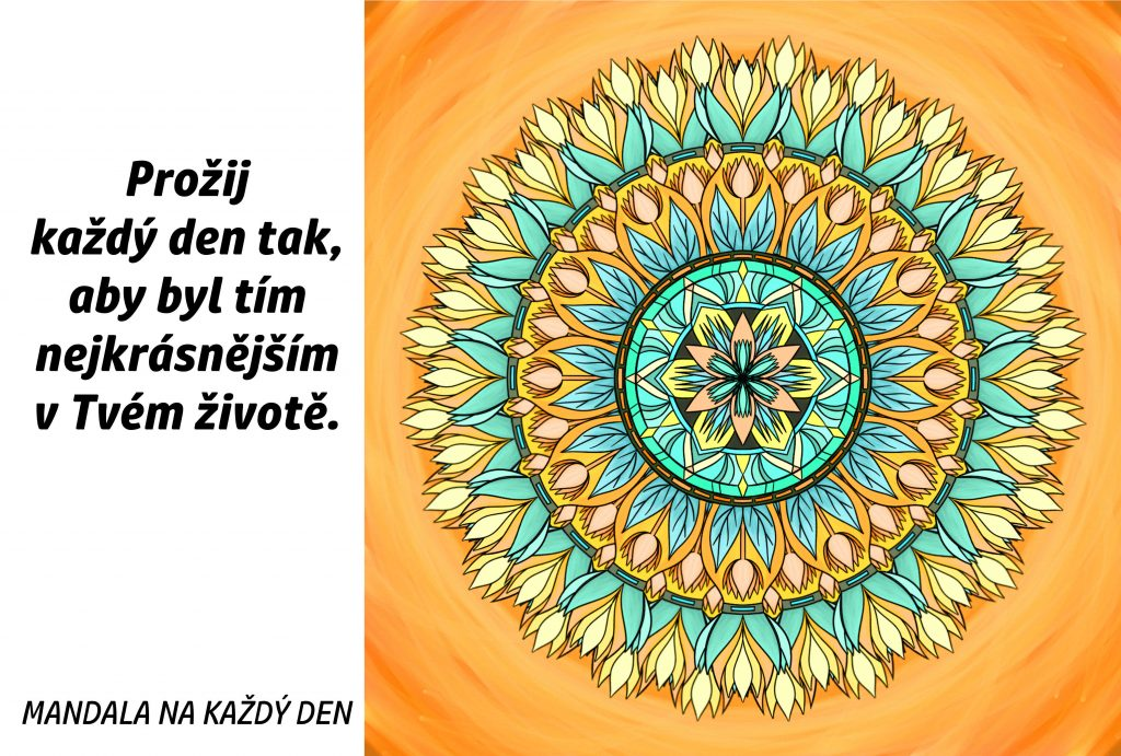 Mandala Prožij krásný den