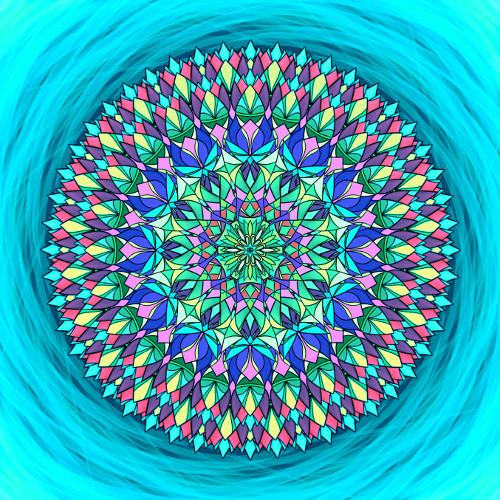 Mandala Uskutečni svůj sen