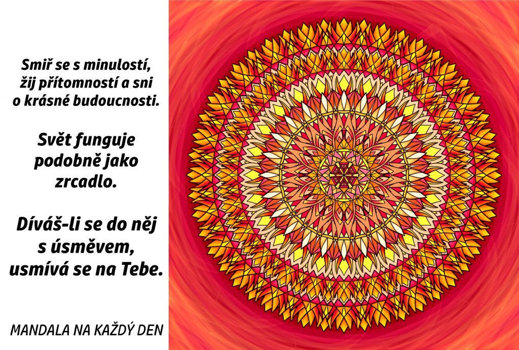 Mandala Dívej se s úsměvem