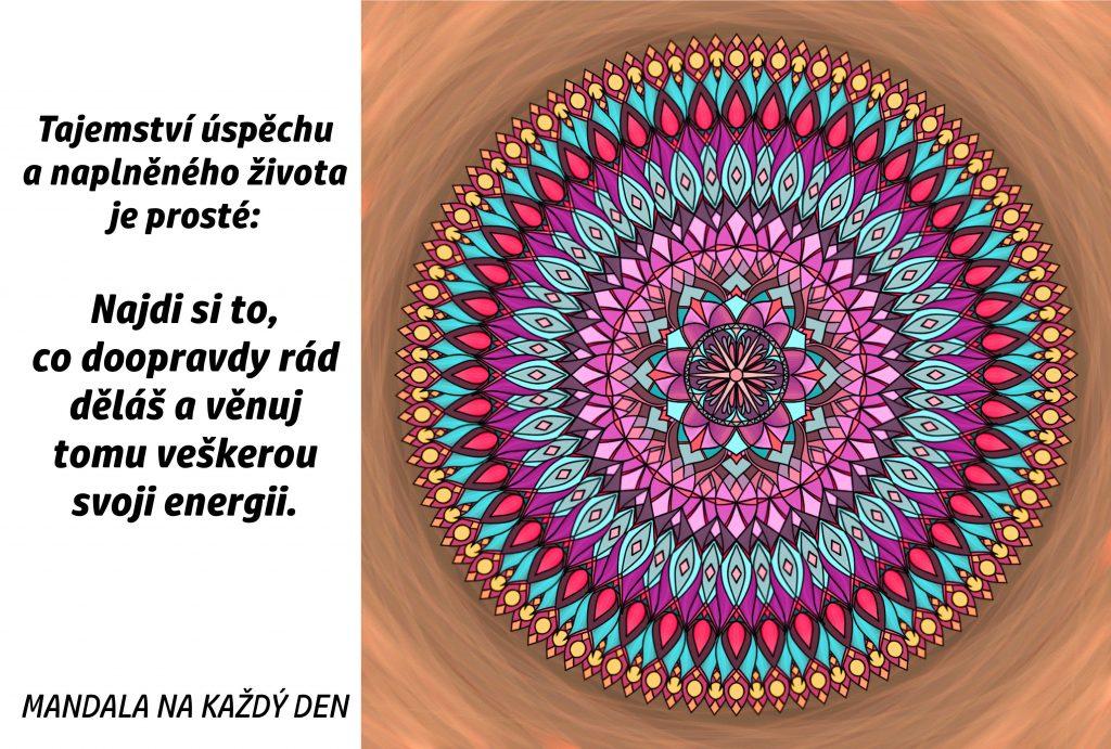 Mandala Tajemství úspěchu