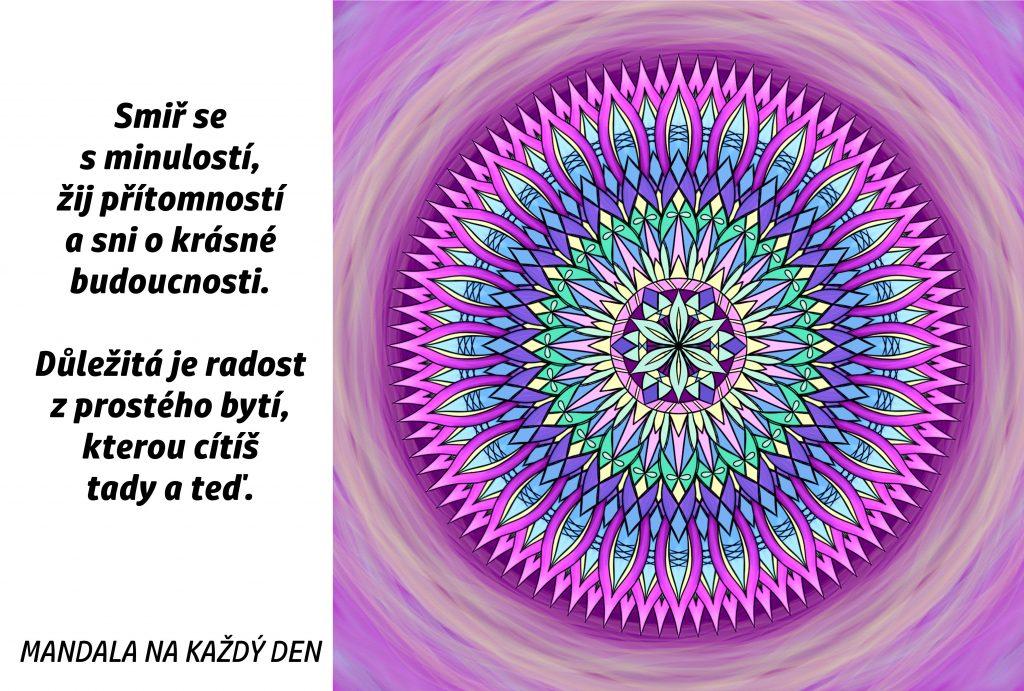 Mandala Radost z prostého bytí
