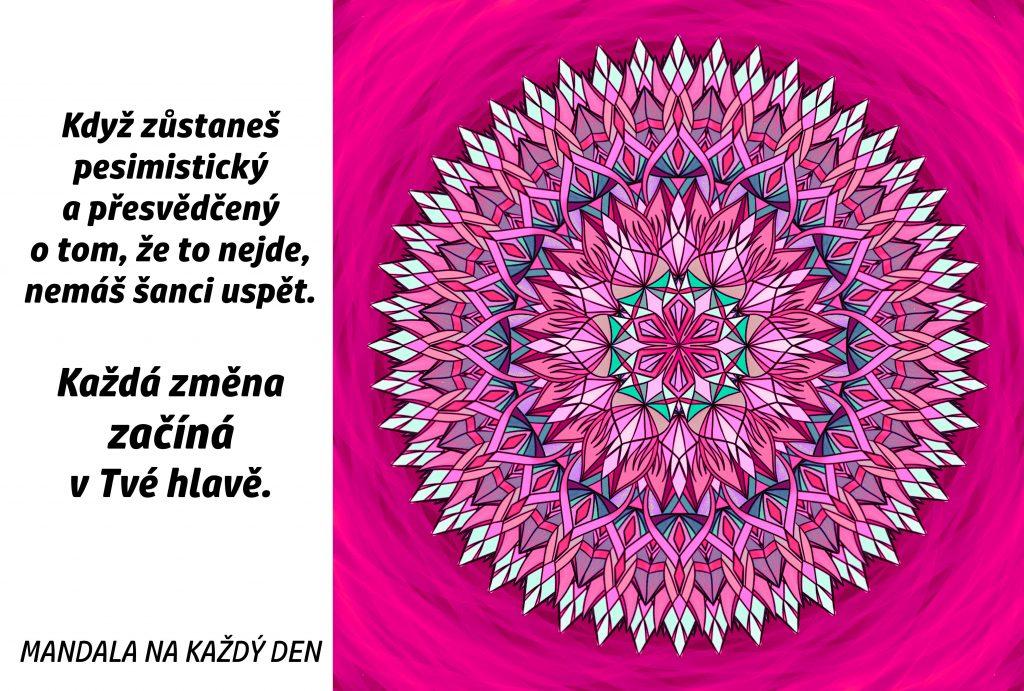 Mandala Změna začíná v Tobě