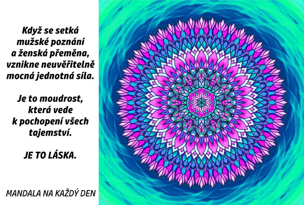 Mandala Láska a moudrost