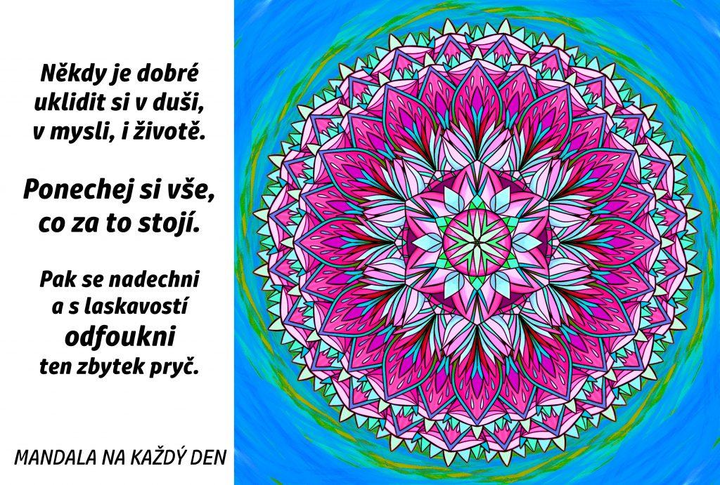 Mandala Úklid v duši, mysli i životě