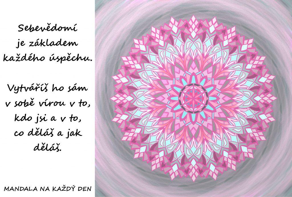 Mandala Zdravé sebevědomí