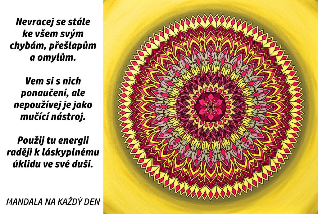 Mandala Láskyplný úklid v duši