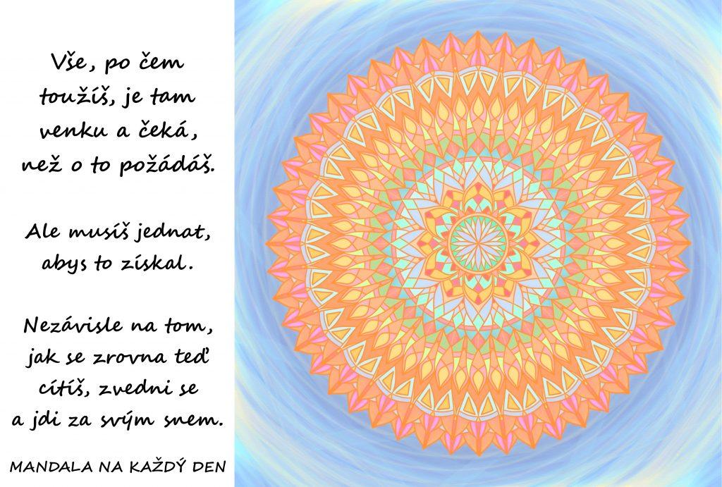 Mandala Jdi za svými sny