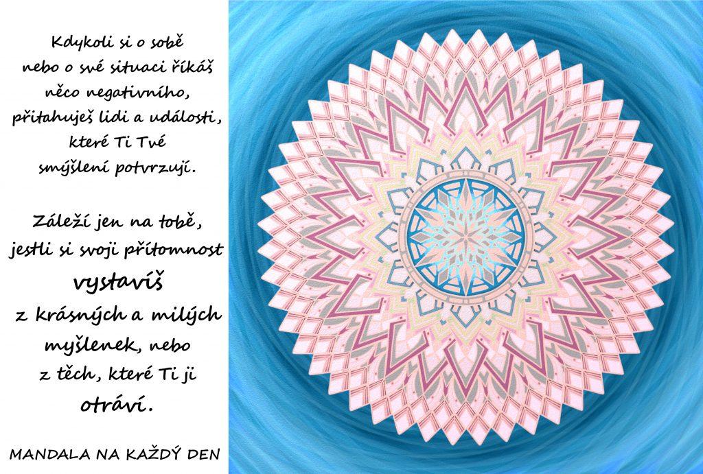 Mandala Nenech si otrávit svoji přítomnost