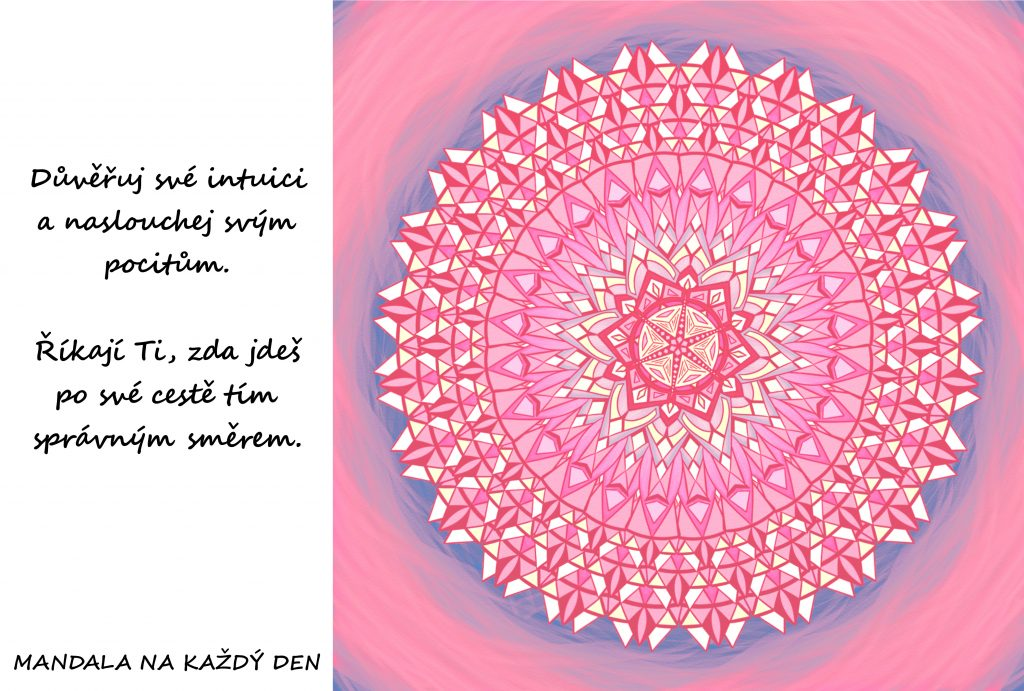 Mandala Intuice a pocity