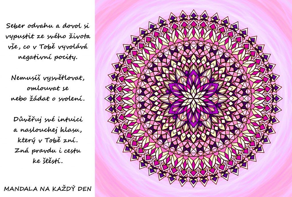 Mandala Odvaha a intuice
