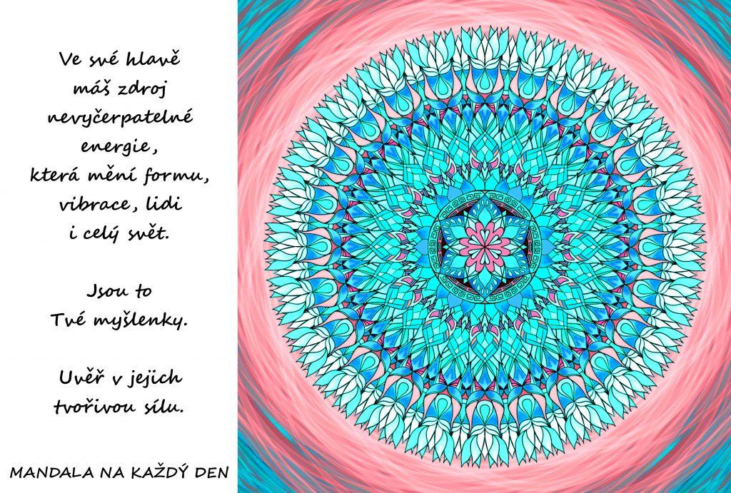 Mandala Tvořivá síla v Tvé hlavě