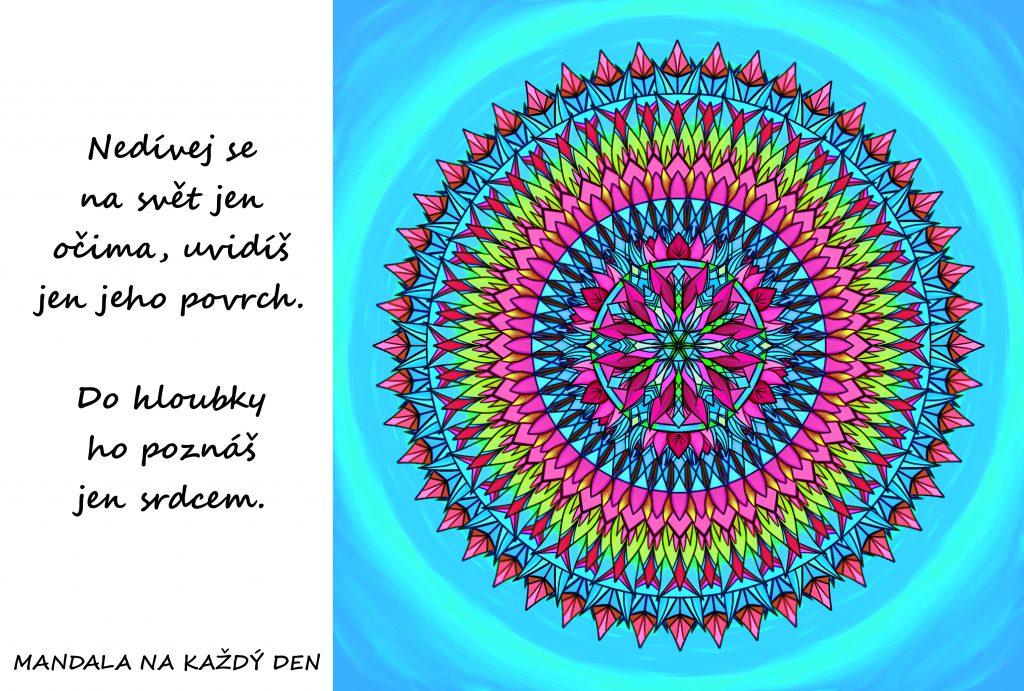 Mandala Poznávej svět srdcem