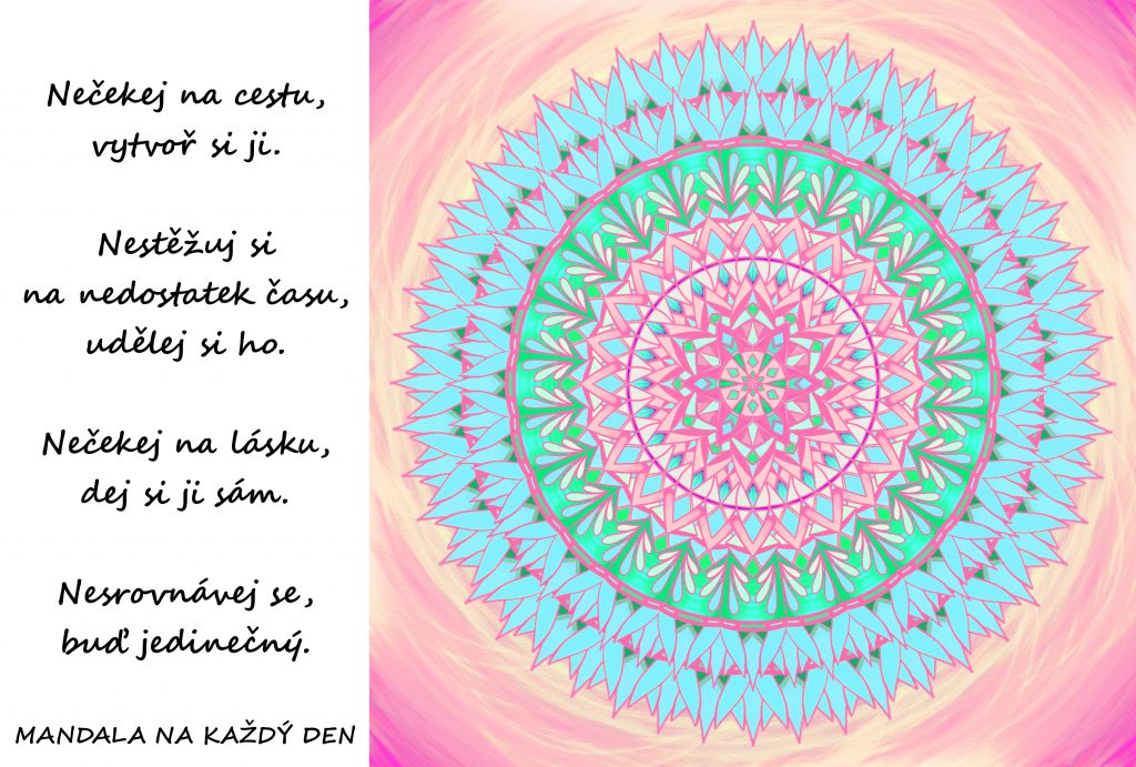 Mandala Utvářej si svoji cestu