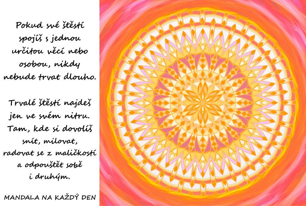 Mandala Najdi své štěstí