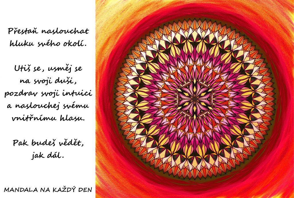 Mandala Naslouchej své duši