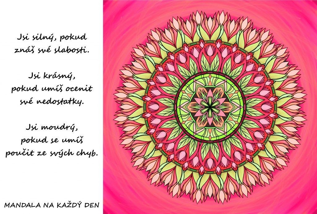 Mandala Síla, krása, moudrost