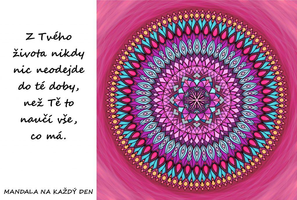 Mandala Život nás učí