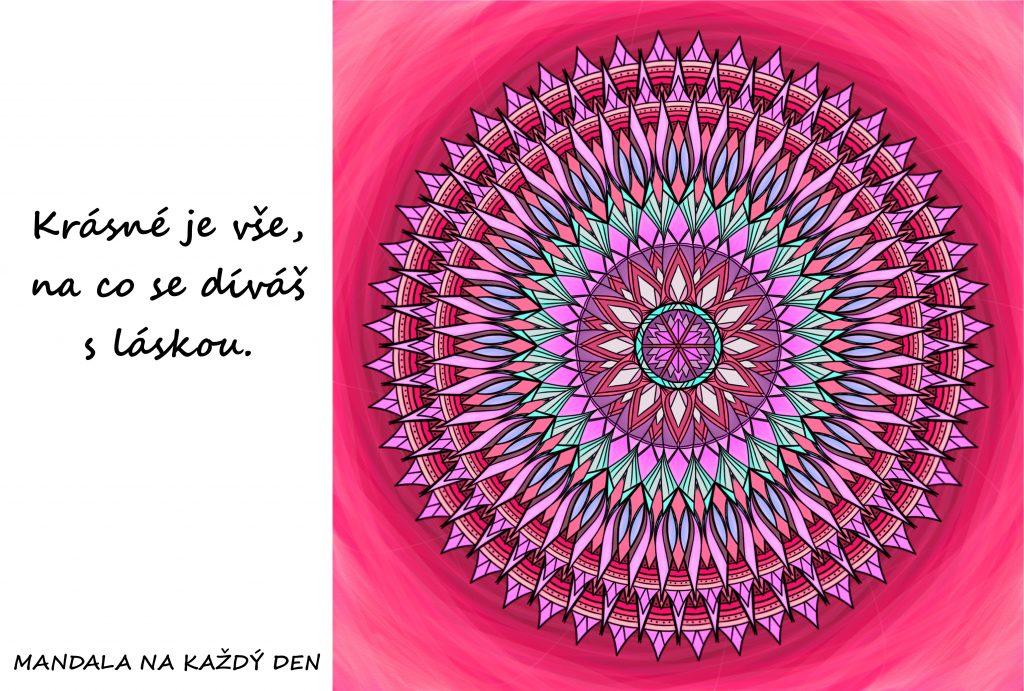 Mandala Dívej se na svět s láskou
