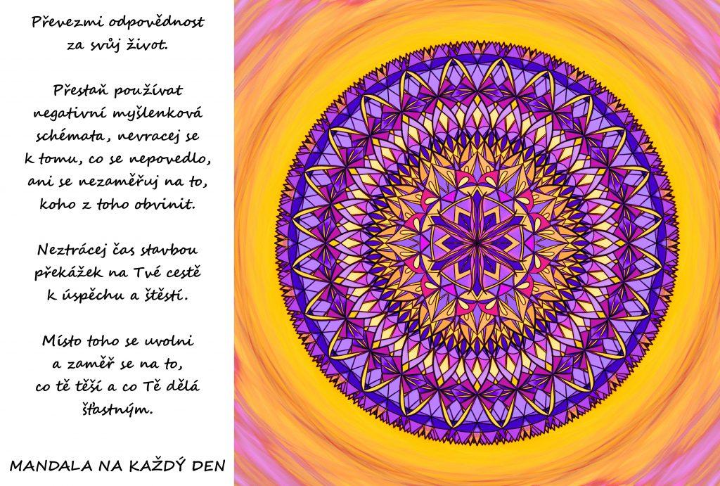 Mandala Cesta k úspěchu a štěstí