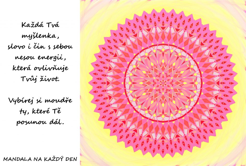 Mandala Vybírej si moudře