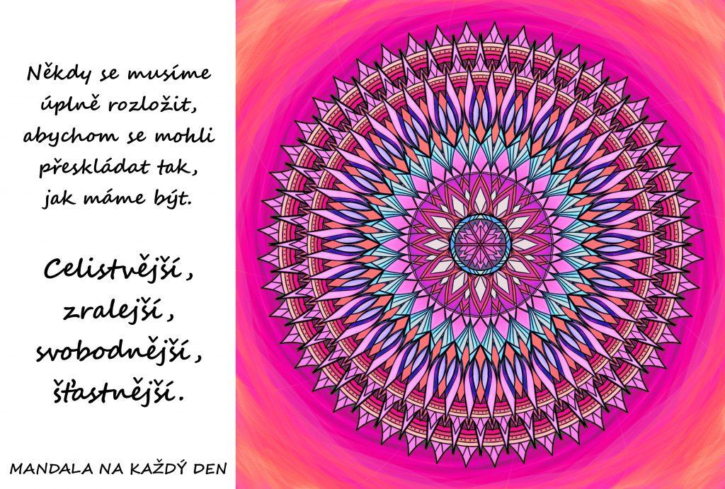 Mandala Celistvější, zralejší, svobodnější, šťastnější