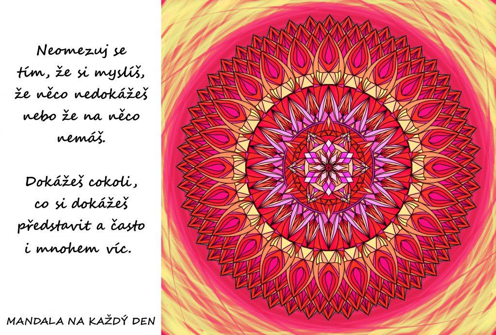 Mandala Neomezuj se nedůvěrou