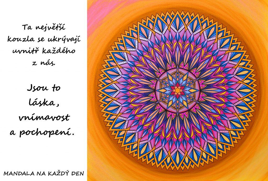 Mandala Láska, vnímavost, pochopení
