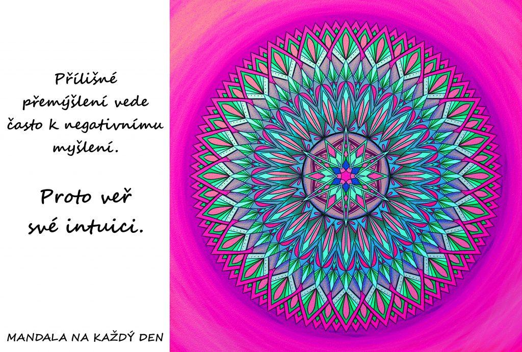 Mandala Věř své intuici
