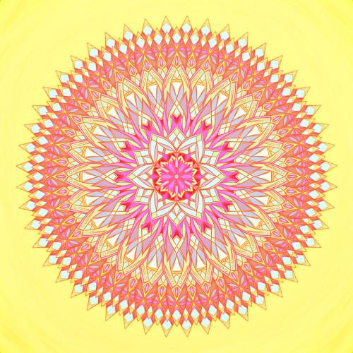 Mandala Celá krása života