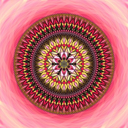 Mandala Intuice, sny, naděje, smích a láska