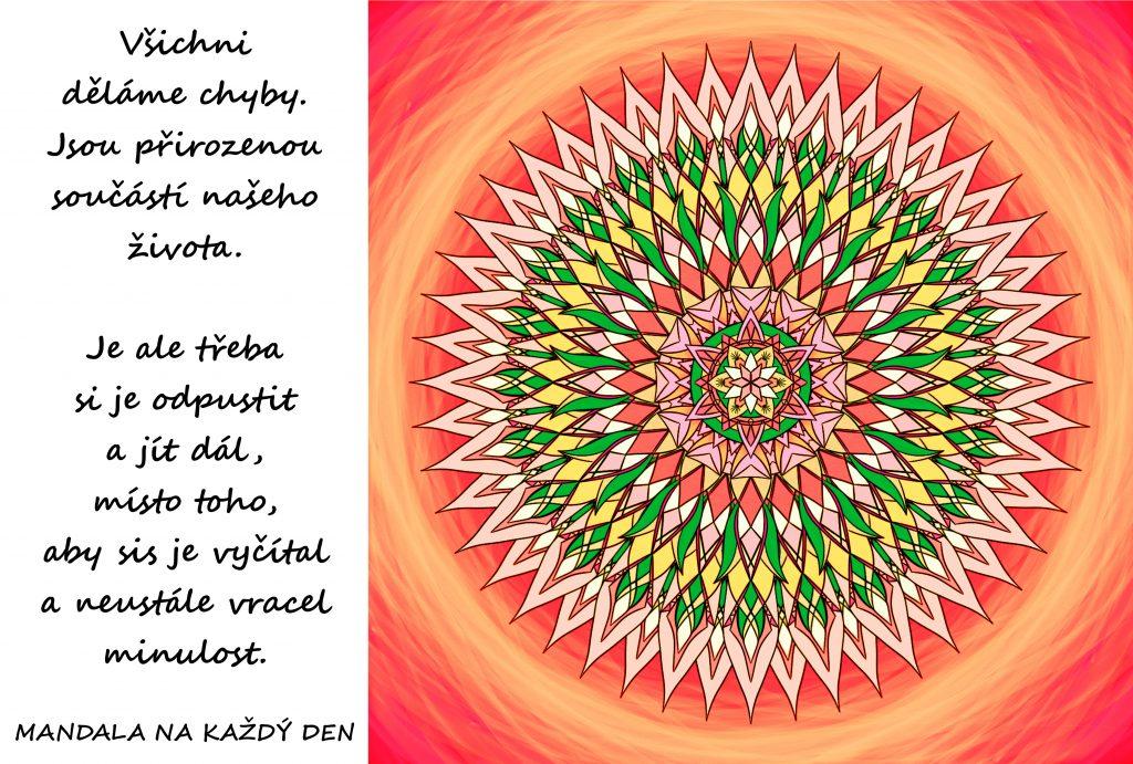 Mandala Chyby jsou přirozené